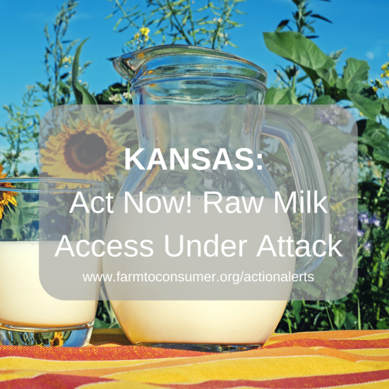 Kansas Raw Milk